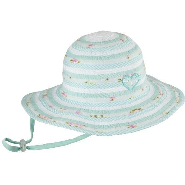 GIRLS FLOPPY SWEETHEART MINT SUNHAT / 50+ UPF PROTECTION - ShoeKid Canada
