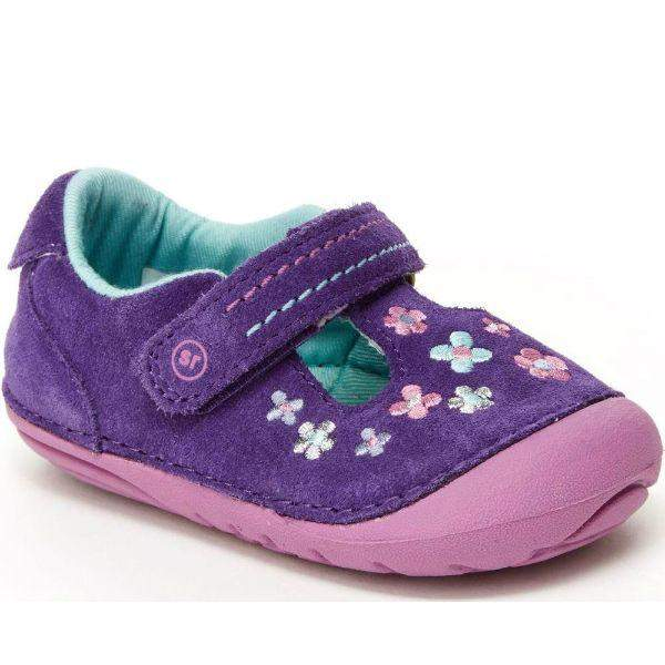 Stride Rite Tonia Purple Baby Toddler Shoes - ShoeKid.ca