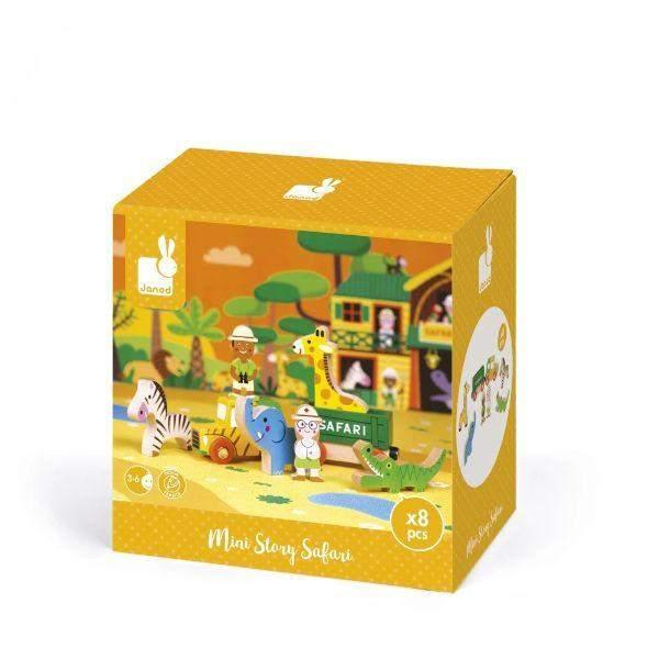 JANOD Kids Toys Story Box Safari - ShoeKid Canada