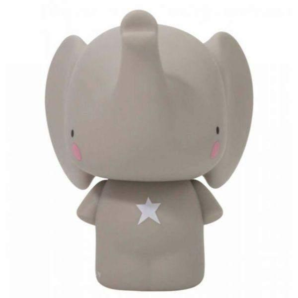LOVELY Money Box Grey Elephant - Piggy Bank - shoekid.ca