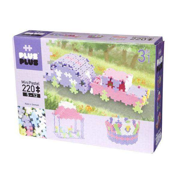 Toys - Plus Plus Mini Pastel - 220pcs