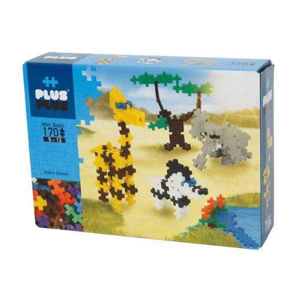 Toys - PLUSPLUS Mini Basic Safari 170pcs