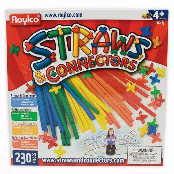Toys - Roylco Straws And Connectors 230 Pc (Kids Educational Toys)