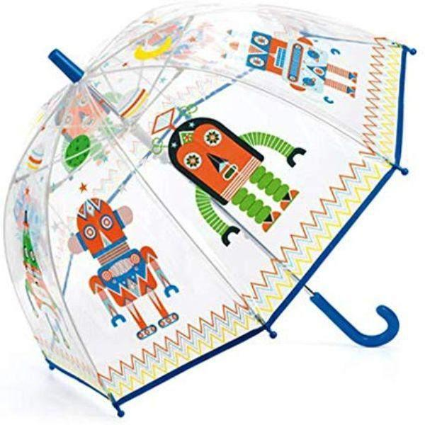 Umbrella - Djeco Children's Umbrella Robots