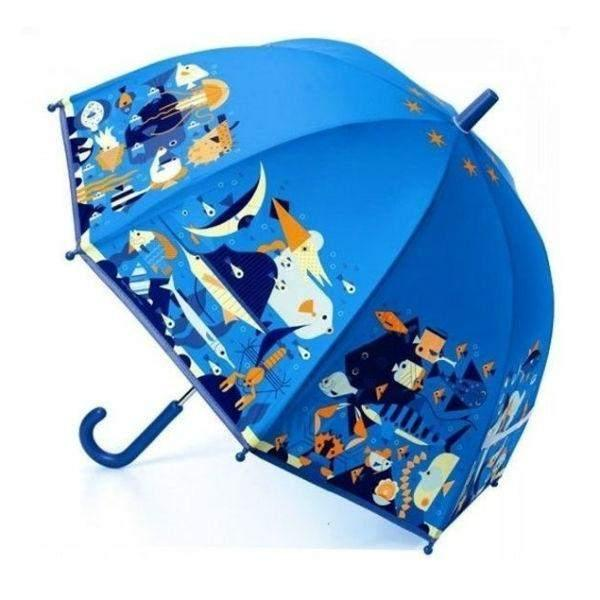 Umbrella - Djeco Children's Umbrella Seaworld