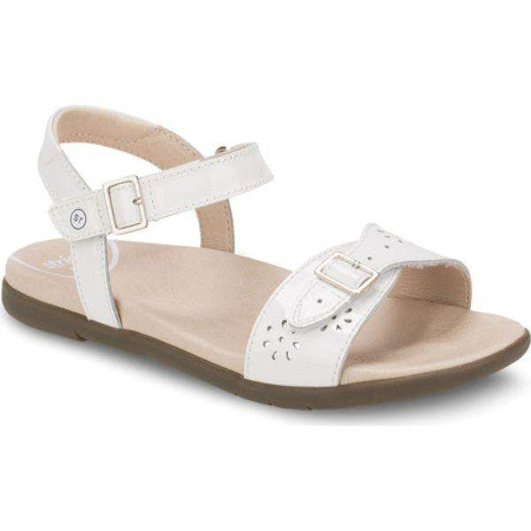 Stride Rite Roxana Girls Leather White Sandals