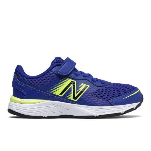 New Balance Little/Big Kids 680v6 Boys Running Shoes