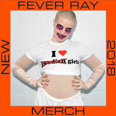 I HEART FEVER RAY WHITE T-SHIRT