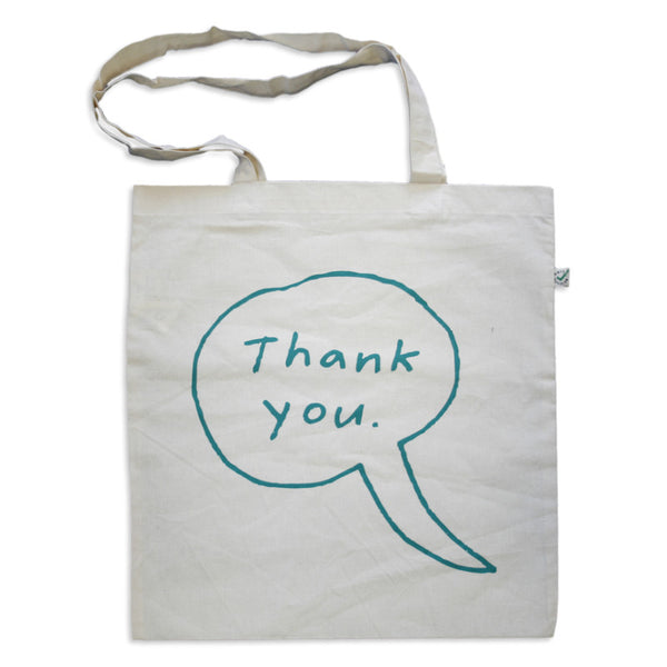 The Knife - Thank You Tote Bag