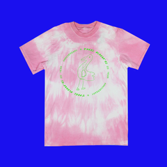 THE KNIFE 20th ANNIVERSARY DUCK PINK T-SHIRT