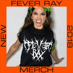 FEVER RAY 2018 LOGO BLACK T-SHIRT