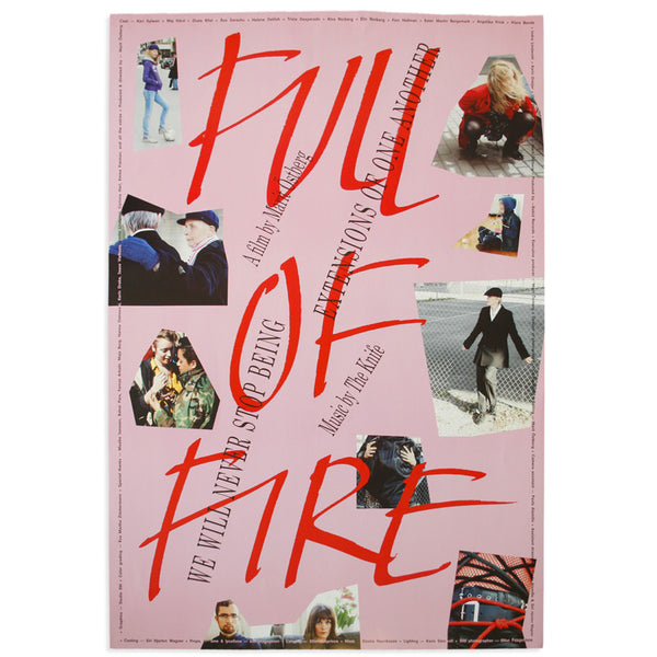 The Knife - Full of Fire Poster