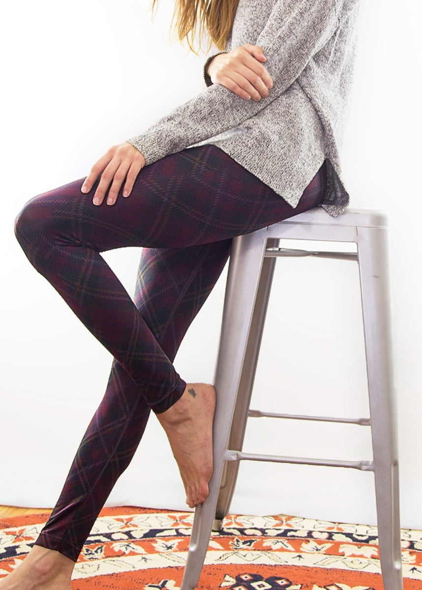 Tartan Long Leggings