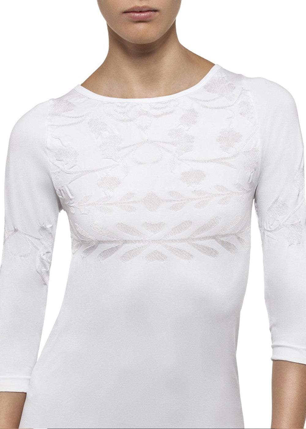 Andrea Embroidered Top