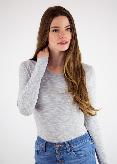 Perfect Cotton Long Sleeve Top