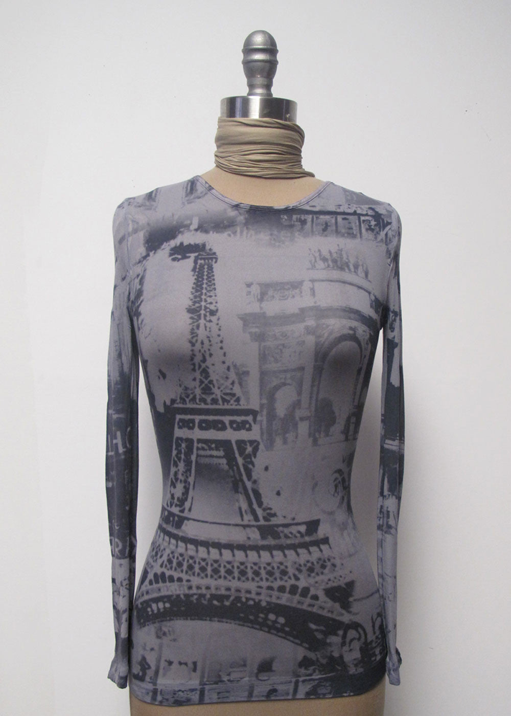 Eiffel Tower Crew Neck Top - New Colors!