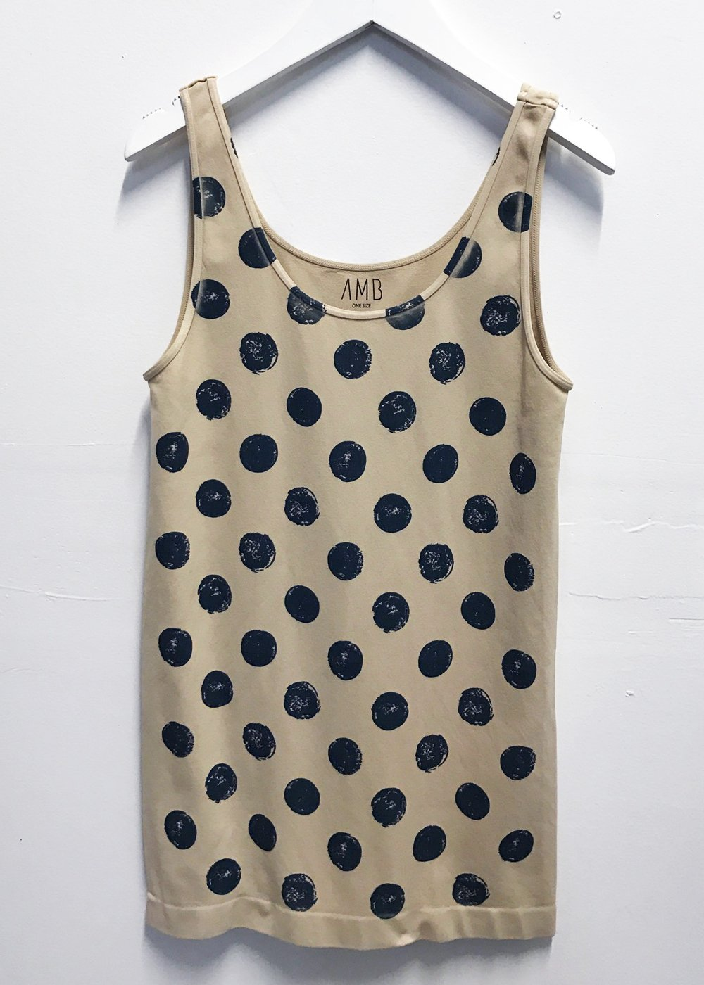 Grunge Polka Dot Tank Top