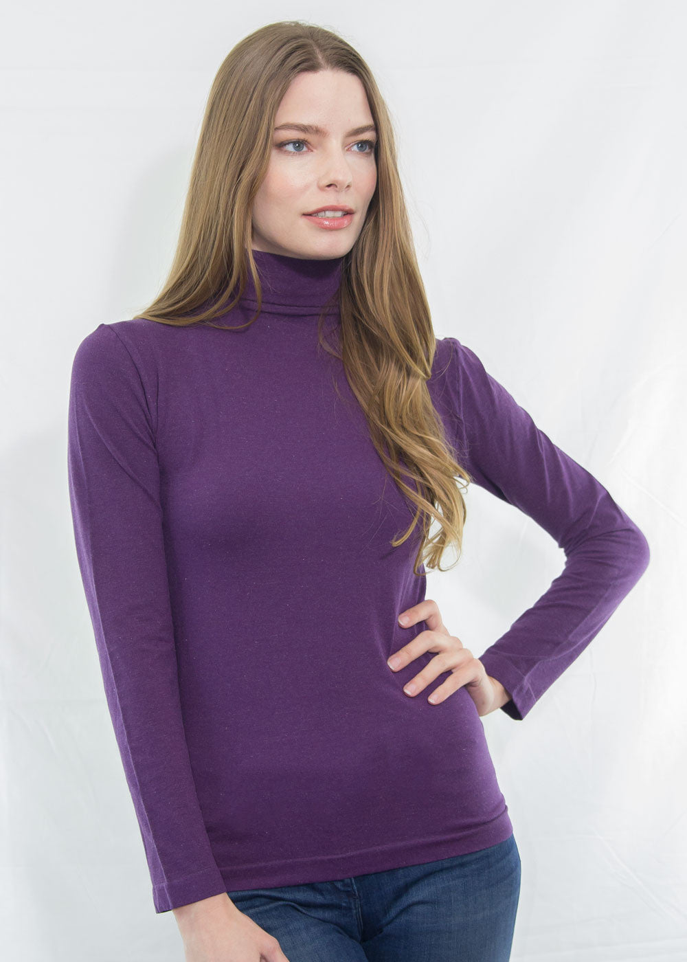 Sienna Mock Neck Top