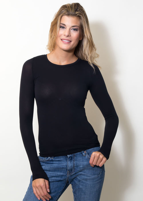 Maria Modal Long Sleeve Top
