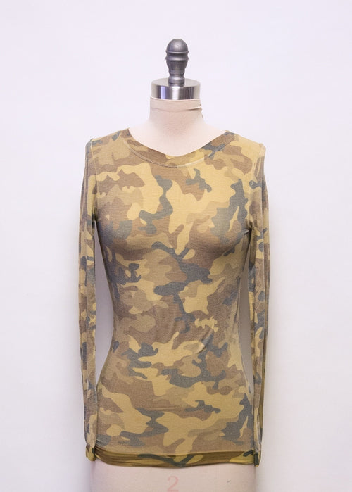 Maria Camo in Gold - One of a Kind