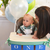 Patrick turns One!  Preppy Green Alligator Party