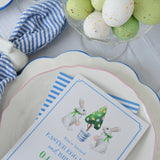 Easter Bunny Brunch Tablesetting Ideas