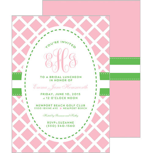 party collections - baby showers - wh hostess social stationery, Baby shower invitations