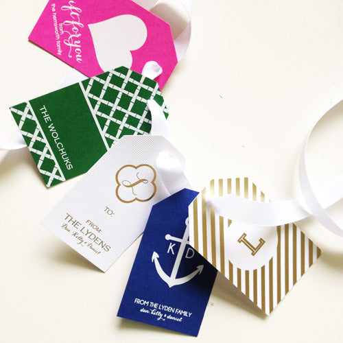 Foil-Stamped Gift Tags