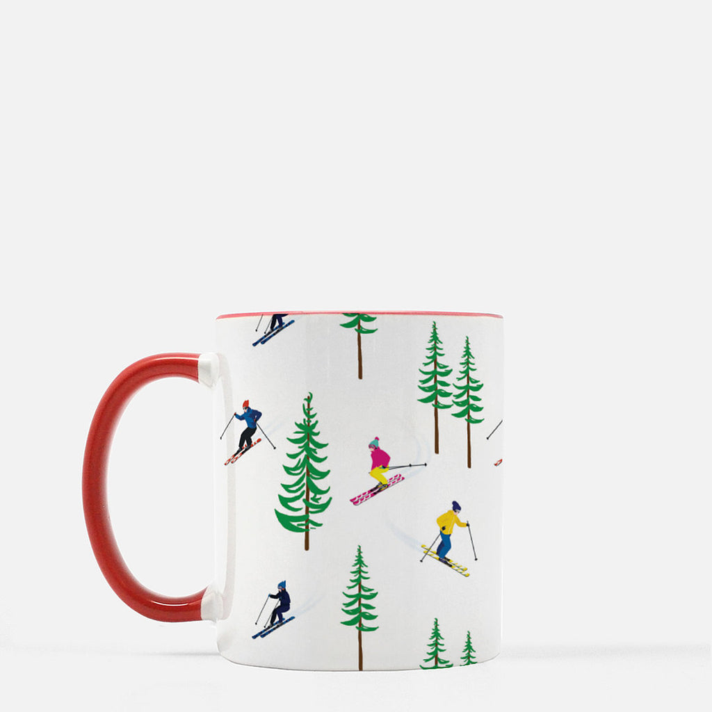 11 oz. Ceramic Mug | Ski Resort
