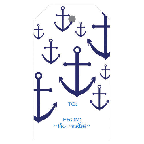 Anchor Personalized Gift Tags