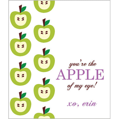 Apple of my Eye Valentines for Kids