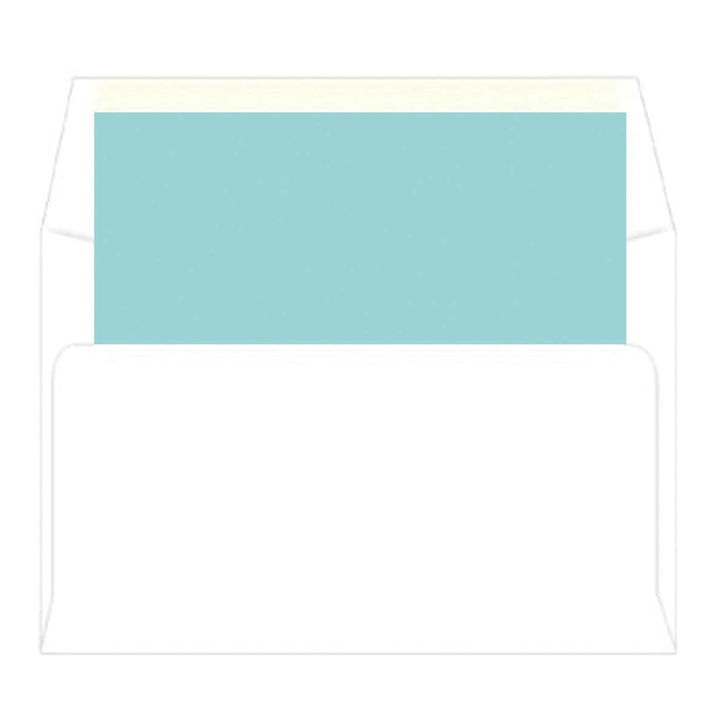 Blue Gingham Baby Icon Personalized Flat Notecards