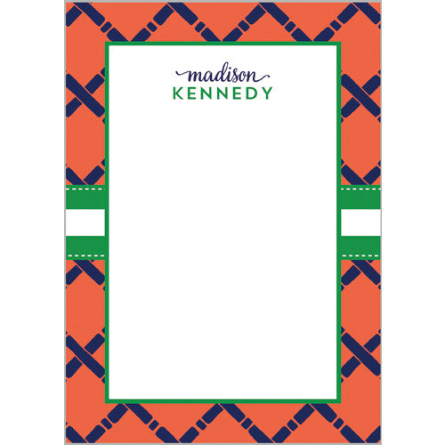 Bamboo Personalized Notepad | More Color Options