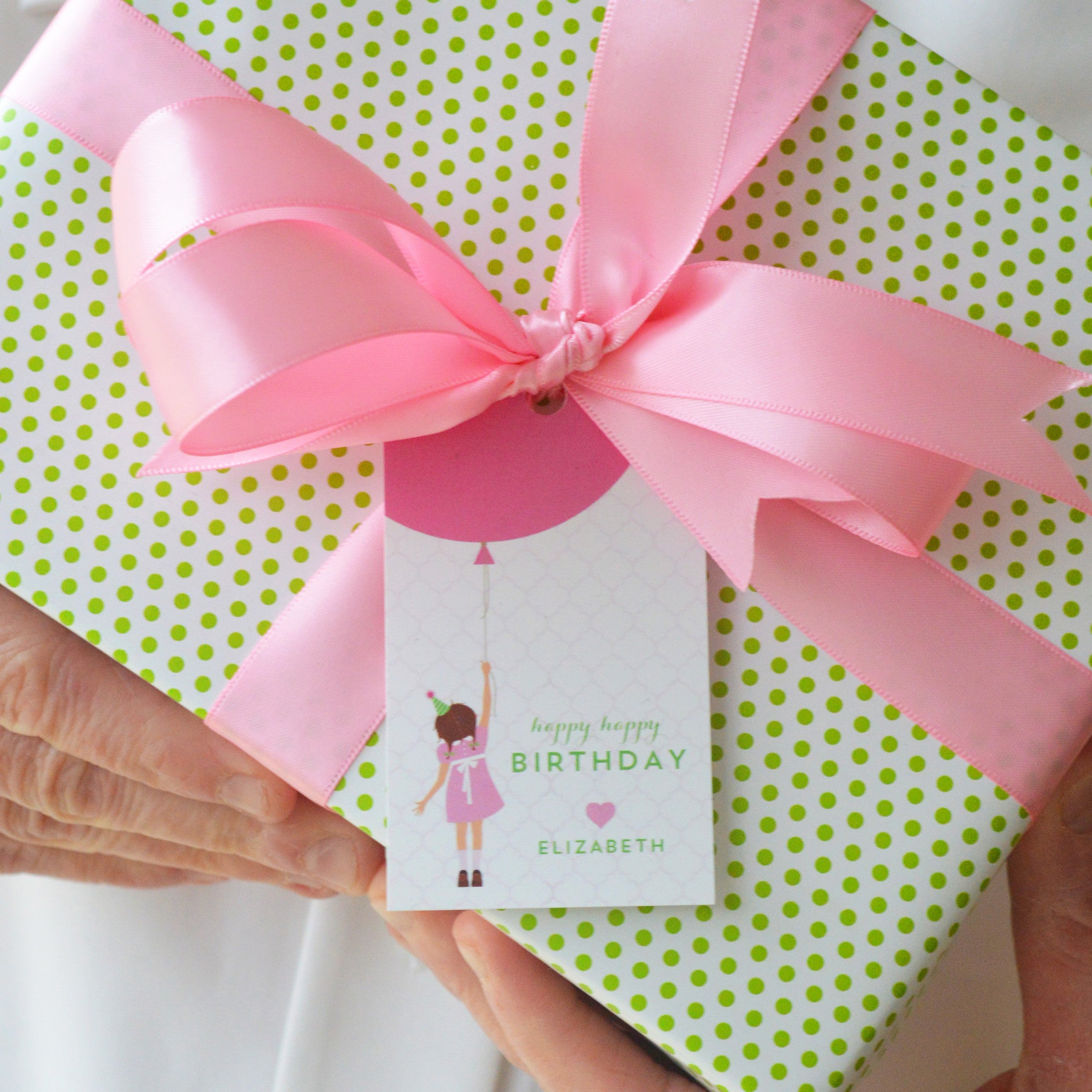 Birthday Girl Personalized Gift Tags