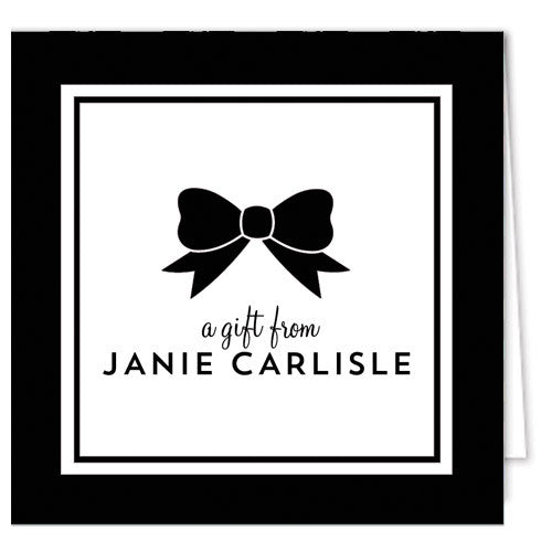 Classic Bow Enclosure Cards + Envelopes | More Colors