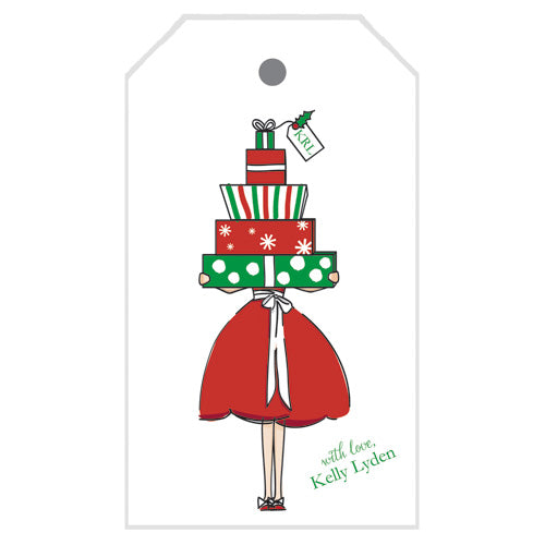 Christmas Girl Gift Tags