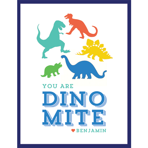 Dino Love Kids Valentines