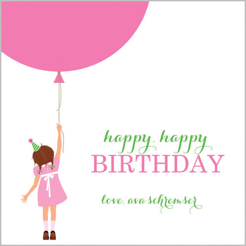 Birthday Girl Gift Sticker
