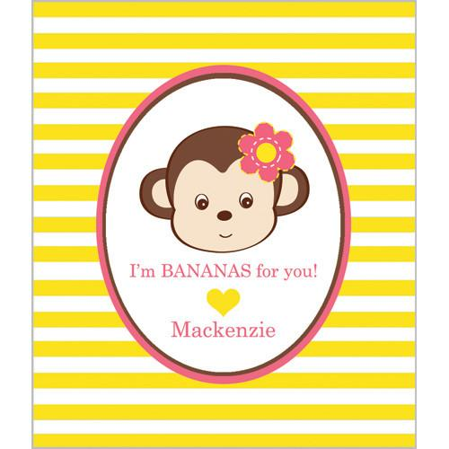 Girl Monkey Valentines Wholesale
