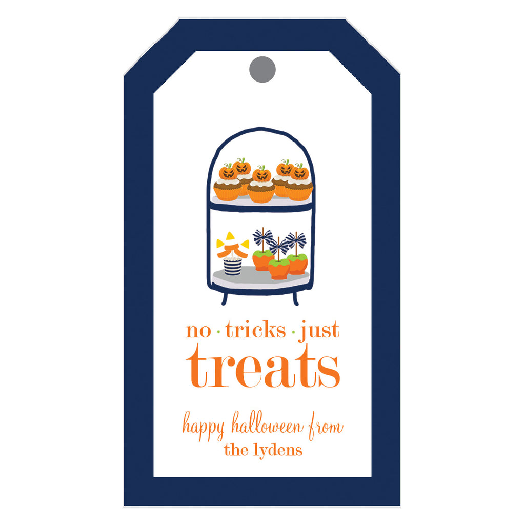 Halloween Desserts Personalized Gift Tags