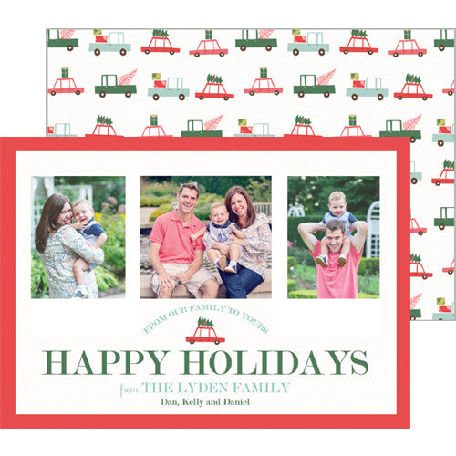 Holiday Travel Photo Card