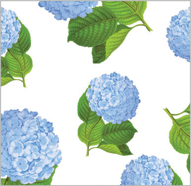 Blue Hydrangeas Gift Wrap Sheets