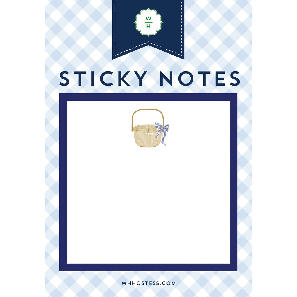 Nantucket Basket Single Sticky Note
