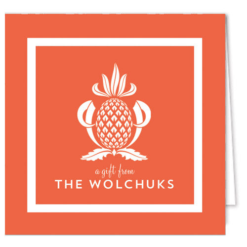 Pineapple Enclosure Cards + Envelopes | More Colors