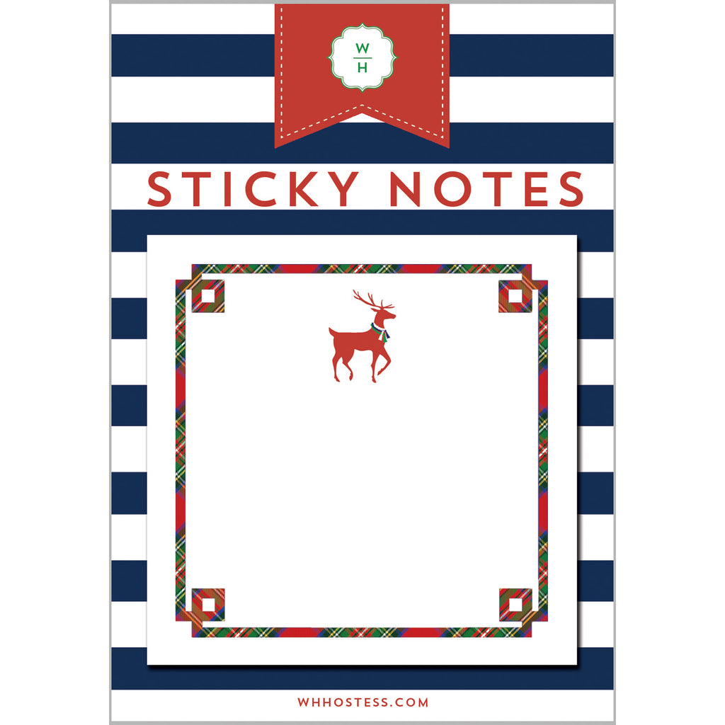 Reindeer Single Sticky Note