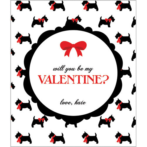 Scotty Dog Valentines for Kids