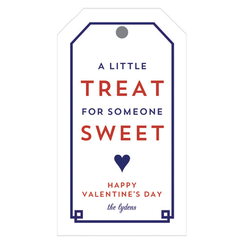 Sweet Treats Valentine's Day Personalized Gift Tags
