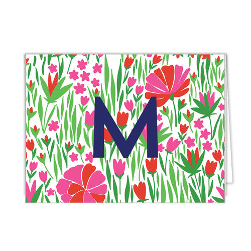 Tulips Folded Notecard - More Colors