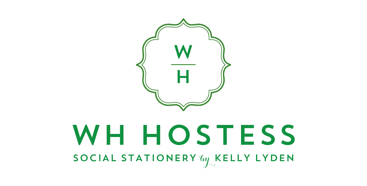 WH Hostess Social Stationery