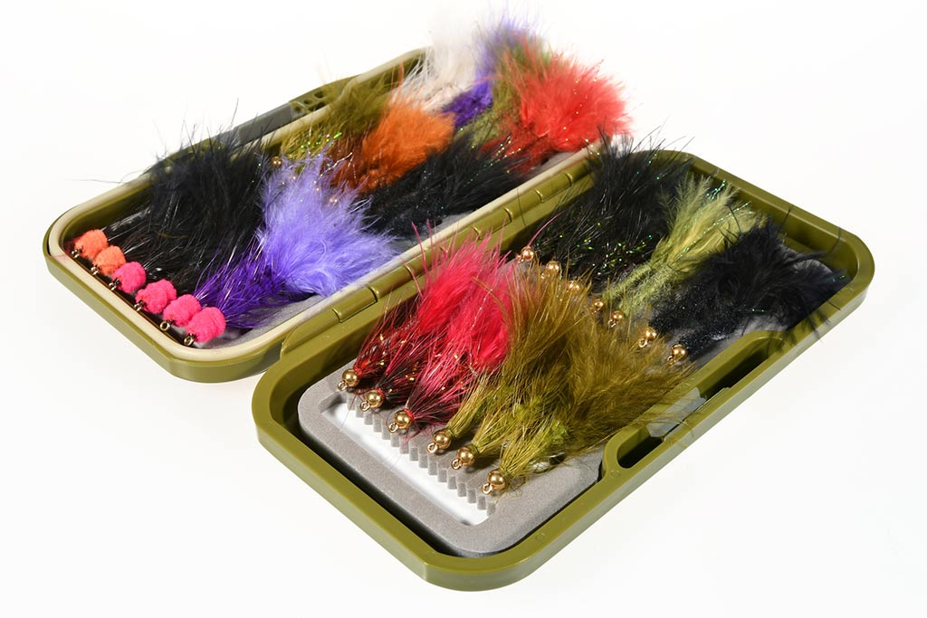 35 Buggers & Leeches Fly Selection (Flies Only) - ReelFlies™